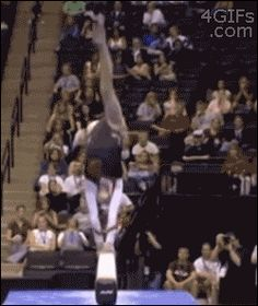 and the award for the best way to avoid an embarrassing moment goes to...pinning for awesomeness (gif)