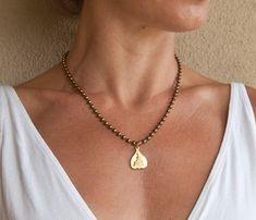 Gold Buddha Pendant Necklace. Bestseller by MalibuJewel on Etsy, $42.00