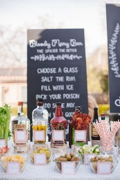 Adult Bloody Mary Bar Party