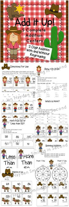 Do you need a fun way for your students to practice addition? Two-Digit addition has never been more fun. This is a set of 5 games for two-digit addition practice. Each game may be played individually, in pairs, or in groups. Answer keys are included for even more  independence. Each game features a penguin with a different colored scarf for discrepancy. Each game has equations with and without regrouping. These games make wonderful math center activities or early finisher activities.