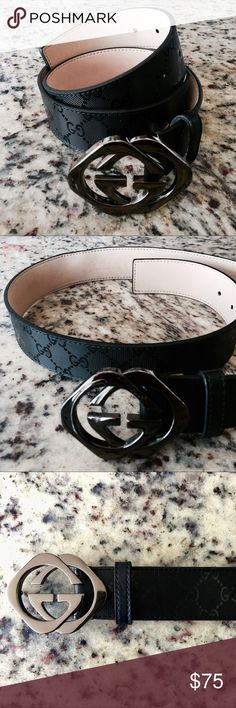 2017 Gucci Collection (High Quality Duplicate) This belt IS NOT AUTHENTIC, What you see is what you get. Really high quality duplicated Gucci from New collections. For a better communication and deal your can text me to my WhatsApp (518) 554 6326 Gucci Accessories Belts