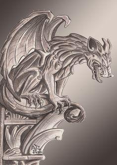 50 Best Gargoyle Tattoo Images Gargoyle Tattoo Meaning