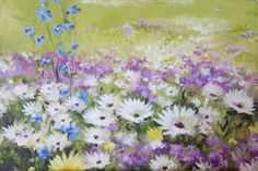 Oil on canvas x Painted by Ellie Eburne Tapestries, Oil On Canvas, Bloom, Flowers, Plants, Painting, Art, Hanging Tapestry, Art Background