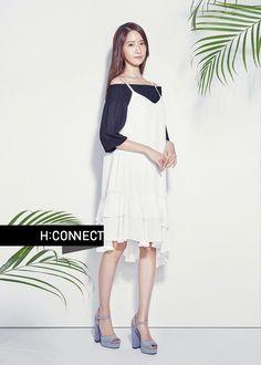 Girls' Generation's YoonA is full of feminine grace for 'H:CONNECT' | allkpop.com