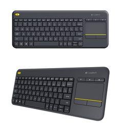 36b83609afc Logitech K400 Plus Wireless Touch Keyboard Black [920-007165] : PC Case Gear