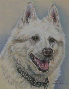 Hey, I found this really awesome Etsy listing at https://www.etsy.com/listing/228530448/custom-dog-drawing-in-color-of-one-pet