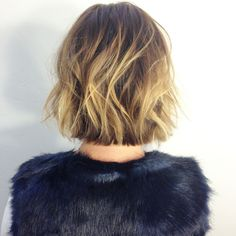 Bob, Soft undercut, tousled hair, non mom bob, undone, bob, San Diego balayage, lived in hair, lived in color, andreamillerhair.com,