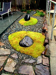 Sculpt Gardens - San Francisco Landscape Design and Construction | Moss Mounds