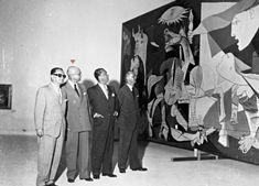 Por iniciativa de Matarazzo, a vinda da mais célebre obra do mais célebre pintor na mais célebre das bienais de São Paulo: Guernica, de Pablo Picasso, que esteve no Brasil durante a 2ª Bienal, em 1953.