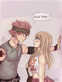 Nalu - how BAD do you want me to be? by Chengggg on DeviantArt