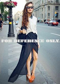 45 Moving Street Chic Looks to copy this Summer - Fashion Trends Look Fashion, Street Fashion, Fashion Women, Fashion Beauty, Autumn Fashion, Girl Fashion, Fashion Trends, Fashion Finder, Fashion 2015