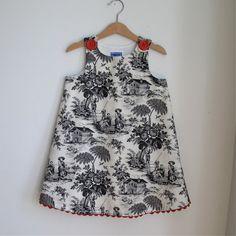 toile dress for newborns
