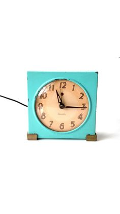 Alarm Clock : Vintage / Westclox / by TheVintageShopkeeper on Etsy