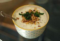 Top 13 könnyű joghurtos saláta | NOSALTY Hummus, Salad Recipes, Mashed Potatoes, Oatmeal, Breakfast, Ethnic Recipes, Desserts, Food, Drink