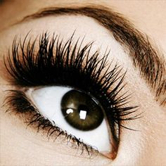 Lashes, every woman looks better with long, full lashes. - thank goodness for Latisse