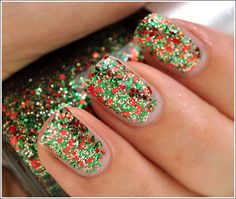 China Glaze Party Hearty Nail Lacquer - this would be cute for a xmas cookie decorating party