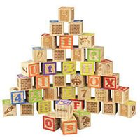 Playskool ABC Blocks - 40 Piece