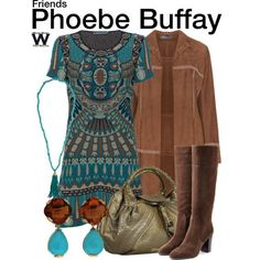 Inspired by Lisa Kudrow as Phoebe Buffay on Friends - Shopping info!