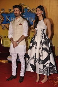 Sonam, Rhea, Fawad unveil 'Khoobsurat' trailer   PINKVILLA