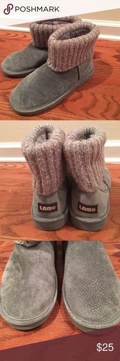 LAMO winter ankle boots Gently used LAMO ankle boots. No scuffs or scratches. Lamo Shoes Winter & Rain Boots