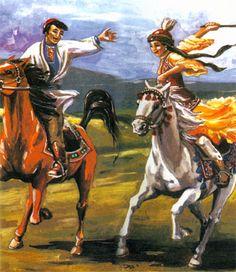 Казахские народные игры, национальные, взрослые, детские, фото, картинки