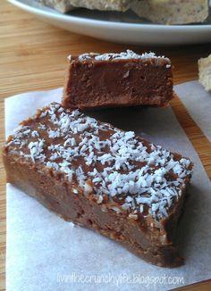 Chocolate Freezer Fudge (nut free) | fastPaleo Primal and Paleo Diet Recipes