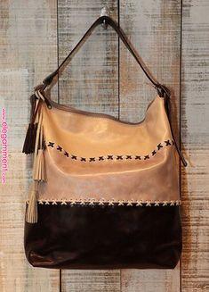 Beige Bucket Bag Lage Leather shoulder bag Oversized by Percibal, $250.00   Cuero in 2019   Pinterest   Bags, Leather and Leather shoulder bag
