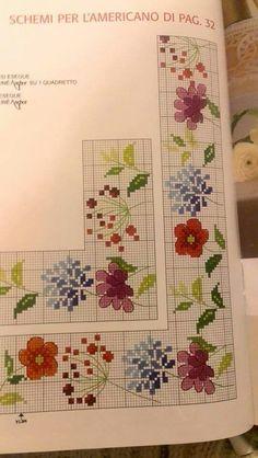 Bordure di fiori