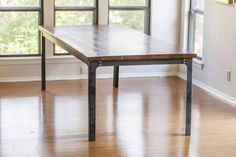 Industrial Dining Table Base, Kindred Series – Bold MFG