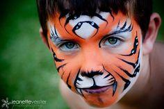 face paint for men | Cat Face Painting | Face Painting Ideas