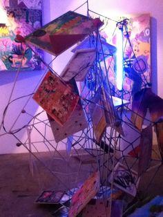 Art installation by Maria Jeona Zoleta