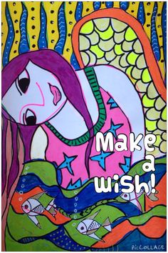 Make a wish said the golden fish!