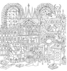 romantic country coloring pages - Google 検索