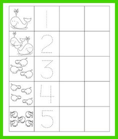 Learn to write and identify numbers by practicing tracing numbers 0 through 9 in this printable worksheet. Trace Number Worksheets for Preschoolers. Number Worksheets Kindergarten, Math Practice Worksheets, Printable Preschool Worksheets, Preschool Writing, Numbers Preschool, Preschool Learning Activities, Learning Numbers, Nursery Worksheets, Tracing Worksheets