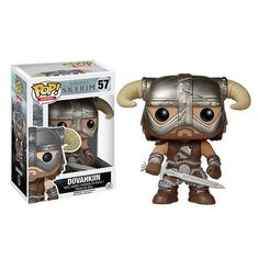 Preview of the upcoming Elder Scrolls V: Skyrim Dovakiin Pop! Vinyl by Funko (9.99 each, Release date: August) Pre-order link is in our profile!! #videogames  #elderscrolls  #funko #funkopop #popvinyls #popvinyl #vinyl #collectible