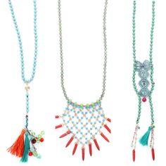 Pink Revolver SS2015 Collection Este verano opta por collares de piedras naturales que le darán a tu Look un toque boho chico #GettheLook #PinkRevolver #ForeverBoho