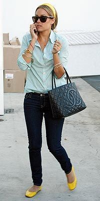 i have a crush on her! I love everything she wears lol!
