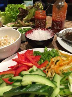 Dinner: Veggie Lettuce Wraps