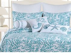 Coastal King Quilt Reef Blue---must have this!!!!!
