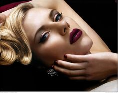 I`m curvy - I`m never going to be 5` 11` and 120 pounds. But I feel lucky to have what I`ve got. -scarlett johansson