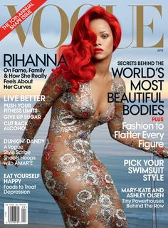 For more on Rihanna, buy the April issue of Vogue.