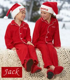 personalized cozy red pjs - Chasing Fireflies Matching Family Christmas Pjs 359c4dc30
