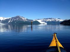 If you're into the eco-tourism scene, Seward is an excellent place to enjoy kayaking and stand-up paddle-boarding right in the middle of God's green (and blue) earth.