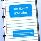 """This printable is a """"Beginner's Guide"""" to note-taking. It introduces how to take meaningful notes, paraphrase, and cite sources with a focus on note-taking from written materials and Web sites. A definition and examples of plagiarism are included as well. Great to use for mini-lessons and to complement to research projects."""