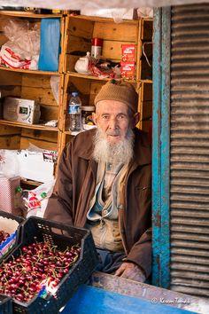 Selling Cherries - Ankara, Turkey