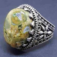 yemen 925 sterling silver mens ring handmade عقيق يماني سليماني نادر