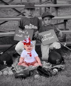 Carman - this made me think of you! Baby girl baseball onesie/ ruffled by darlingdivacreations on Etsy Baby Pictures, Baby Photos, Family Photos, Cute Pictures, Monthly Pictures, Sister Pictures, Baseball Pictures, Family Posing, Baseball Onesie