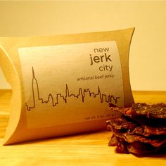 Brooklyn-flavored beef jerky