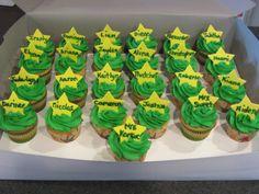 Cupcakes for Kindergarten graduation