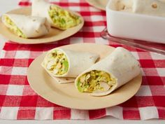 Make Ina Garten's flavorful Curried Chicken Wraps in advance for a great meal-on-the-go.